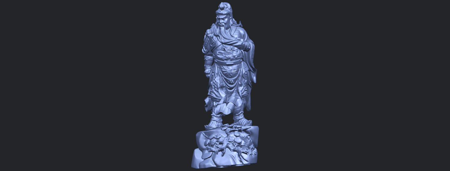 06_TDA0241_Guan_Gong_iiB02.png Download free STL file Guan Gong 02 • 3D printing template, GeorgesNikkei