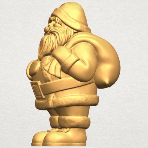 TDA0579 Santa Claus A03.png Download free STL file Santa Claus • Object to 3D print, GeorgesNikkei