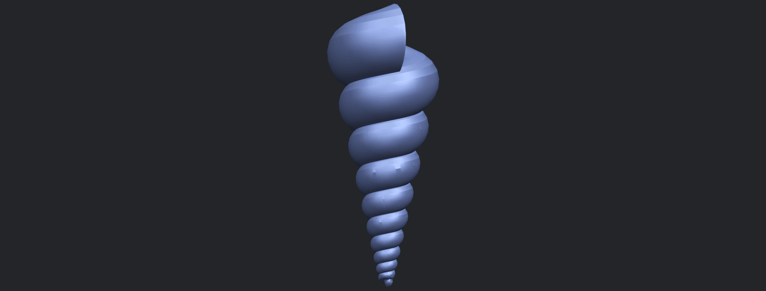 20_TDA0487_spiral_shellB09.png Download free STL file spiral shell • Object to 3D print, GeorgesNikkei