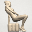 TDA0285 Naked Girl B02 01.png Download free STL file  Naked Girl B02 • 3D printer model, GeorgesNikkei