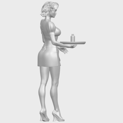 07_TDA0475_Beautiful_Girl_09_WaitressA09.png Download free STL file Beautiful Girl 09 Waitress • 3D printable object, GeorgesNikkei