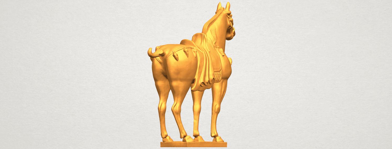 A05.png Télécharger fichier STL gratuit Cheval 08 • Plan à imprimer en 3D, GeorgesNikkei
