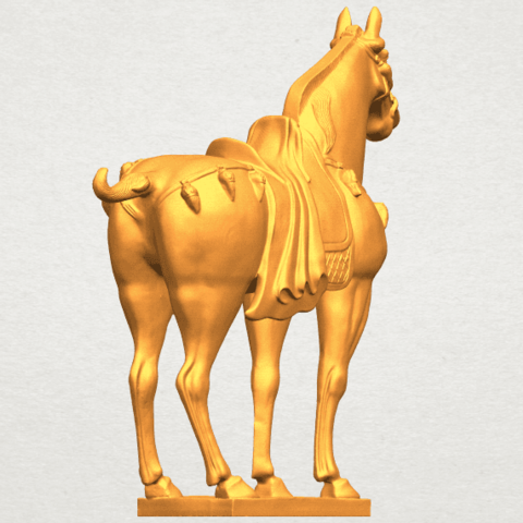 A05.png Download free STL file Horse 08 • Design to 3D print, GeorgesNikkei