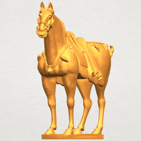 A10.png Download free STL file Horse 08 • Design to 3D print, GeorgesNikkei