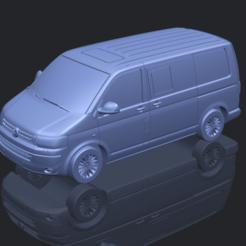 stl file VW T5 GP Multivan, Miketon