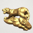 Télécharger fichier STL gratuit Horoscope chinois 03 Tigre Tigre, GeorgesNikkei