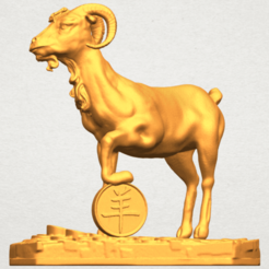 Download free 3D printing models Goat 03, GeorgesNikkei
