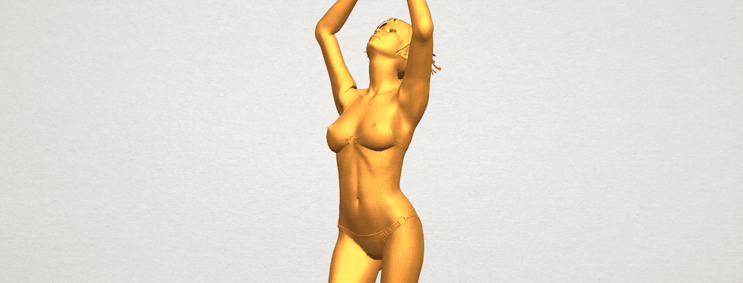 TDA0627 Naked Girl C03 A09.png Download free STL file Naked Girl C03 • 3D printer template, GeorgesNikkei