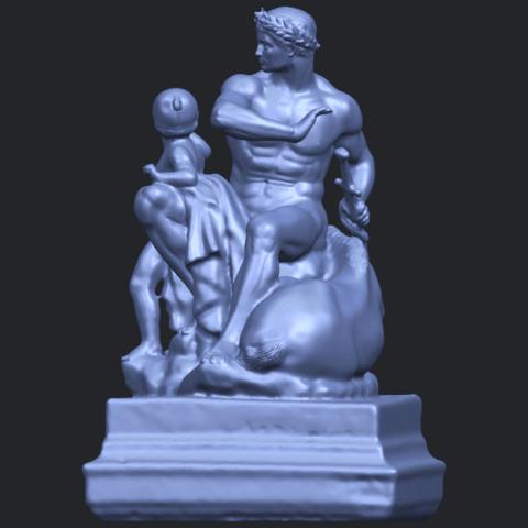 05_TDA0220_Father_and_Son_(ii)_88mmB04.png Télécharger fichier STL gratuit Père et Fils 02 • Plan à imprimer en 3D, GeorgesNikkei