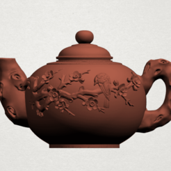 Download free STL file Tea Pot 01 • 3D print template, GeorgesNikkei