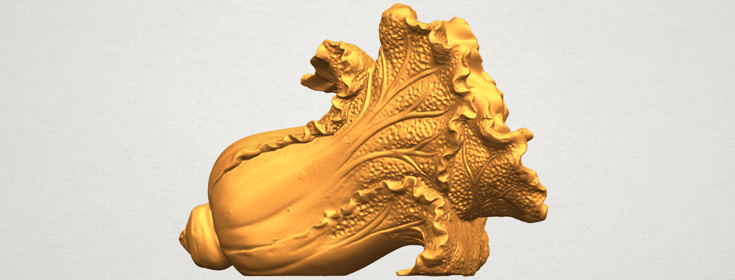 A07.png Download free STL file Vegetable - Fatt Choi 04 • 3D print template, GeorgesNikkei
