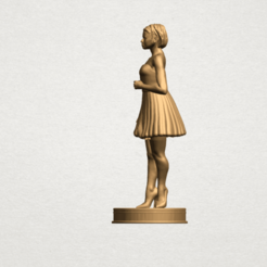 Free 3d print files Standing girl, GeorgesNikkei