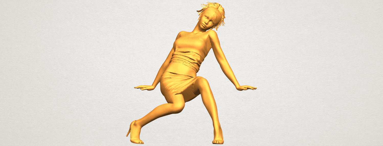 A01.png Download free STL file Naked Girl G10 • 3D printable template, GeorgesNikkei