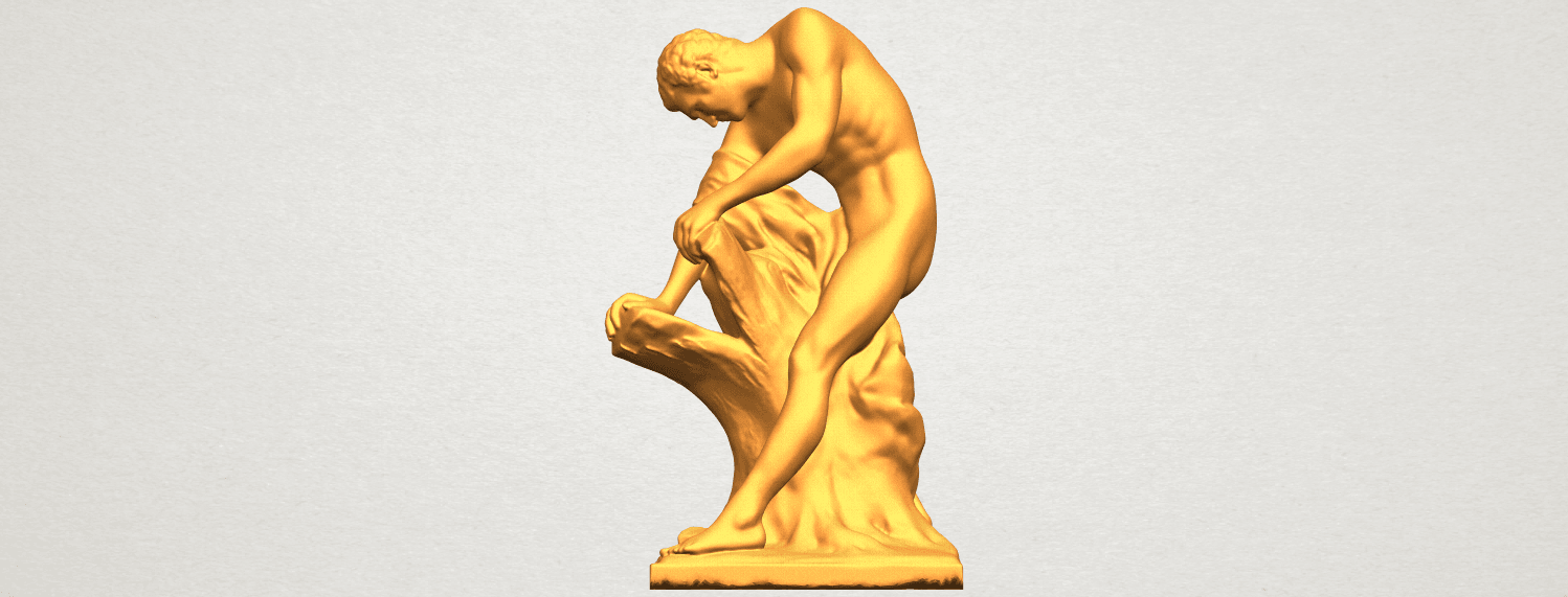 A01.png Download free STL file Milo of Croton • 3D printing design, GeorgesNikkei