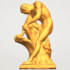 Download free STL file Milo of Croton, GeorgesNikkei