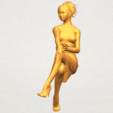 A05.png Download free STL file Naked Girl H04 • 3D printing object, GeorgesNikkei
