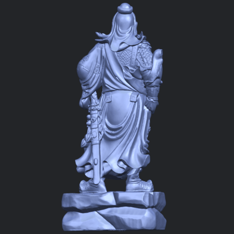 03_TDA0330_Guan_Gong_iiiB07.png Download free STL file Guan Gong 03 • 3D printable template, GeorgesNikkei