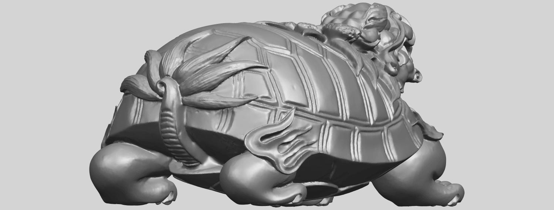 01_TDA0333_Dragon_TortoiseA05.png Télécharger fichier STL gratuit Tortue dragon • Objet imprimable en 3D, GeorgesNikkei
