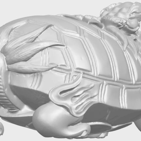 01_TDA0333_Dragon_TortoiseA05.png Download free STL file Dragon  Tortoise • Model to 3D print, GeorgesNikkei