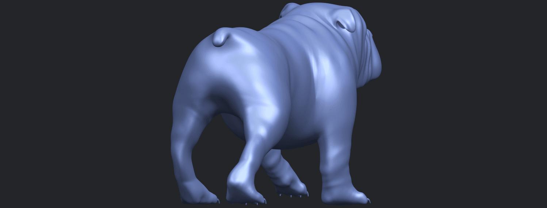 14_TDA0520_Bull_Dog_01B07.png Télécharger fichier STL gratuit Chien de taureau 01 • Plan pour impression 3D, GeorgesNikkei