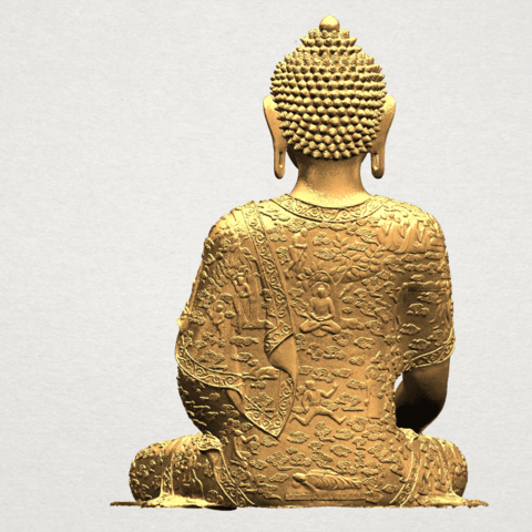 Thai Buddha(i) A05.png Download free STL file Thai Buddha (i) • Model to 3D print, GeorgesNikkei