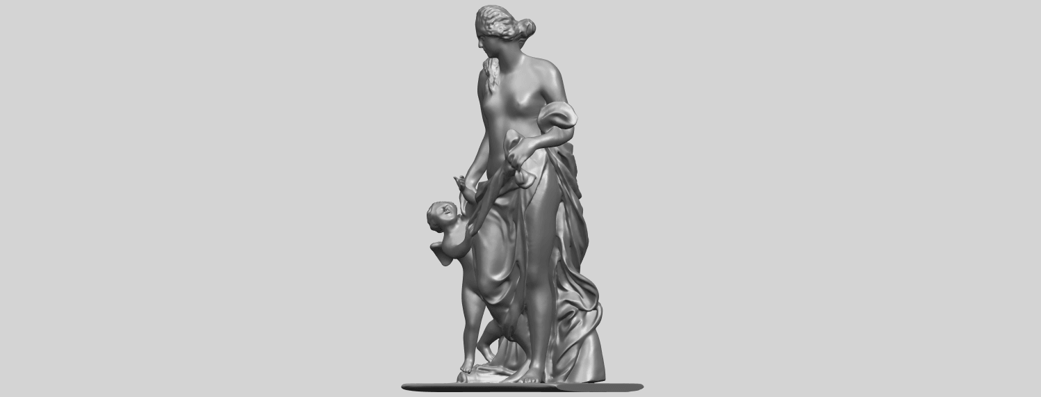 08_Mother_and_Child_v_80mmA02.png Download free STL file Mother and Child  05 • 3D printable model, GeorgesNikkei