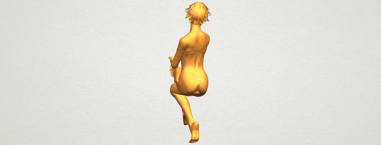 A09.png Download free STL file Naked Girl H02 • 3D print object, GeorgesNikkei