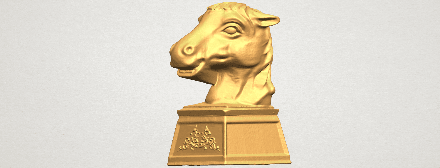 TDA0514 Chinese Horoscope of Horse 02 A02.png Download free STL file Chinese Horoscope of Horse 02 • 3D printer model, GeorgesNikkei
