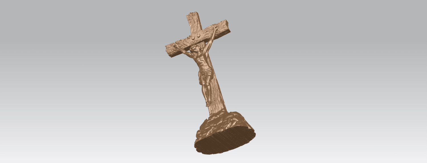 TDA0229 Jesus with cross (ii) A06.png Download free STL file Jesus with cross 02 • Template to 3D print, GeorgesNikkei