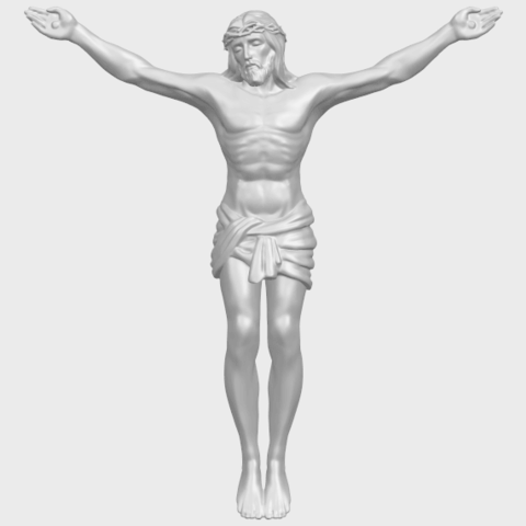 21_TDA0230_Jesus_iA01.png Download free STL file Jesus 01 - top • Object to 3D print, GeorgesNikkei