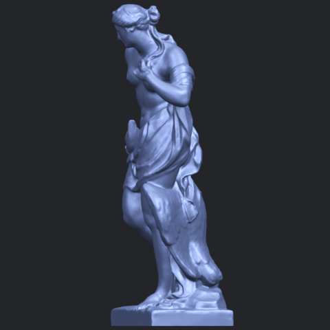 25_TDA0173_Naked_Girl_with_Goose_88mmB03.png Download free STL file Naked Girl with Goose • 3D print template, GeorgesNikkei