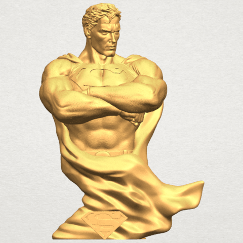 TDA0542 Superman A01 ex400.png Download free STL file Superman • 3D printable model, GeorgesNikkei