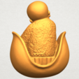A06.png Download free STL file Little Monk 03 • 3D print template, GeorgesNikkei