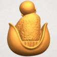 A06.png Télécharger fichier STL gratuit Petit Moine 03 • Modèle pour imprimante 3D, GeorgesNikkei