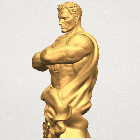 TDA0542 Superman A03.png Download free STL file Superman • 3D printable model, GeorgesNikkei