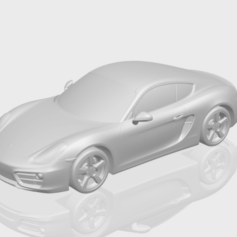 16_TDA0304_Porche_01_Length438mmA00-1.png Download free STL file Porche 01 • 3D printable object, GeorgesNikkei