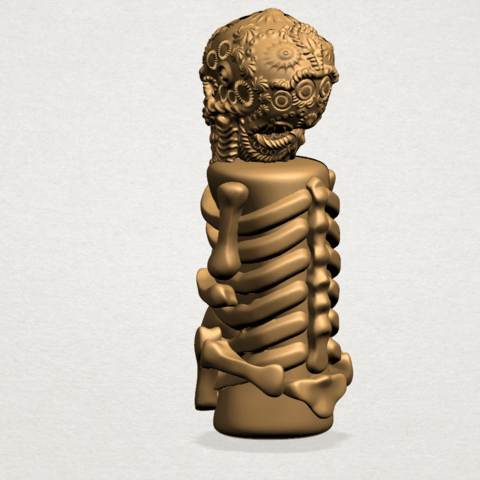 Skelecton - B04.png Download free STL file Skelecton • 3D printer object, GeorgesNikkei