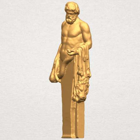 TDA0466 Sculpture of a man 02 A02.png Download free STL file Sculpture of a man 03 • 3D print model, GeorgesNikkei