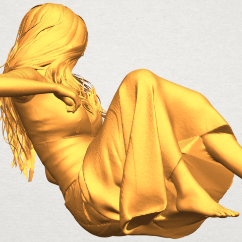 A08.png Download free STL file Naked Girl I03 • 3D printing object, GeorgesNikkei