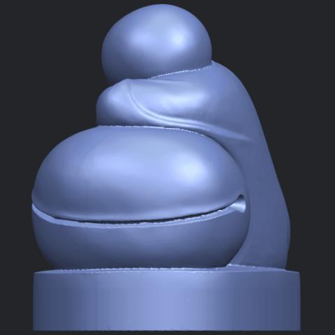 03_TDA0346_Little_MonkB04.png Download free STL file Little Monk 02 • Design to 3D print, GeorgesNikkei