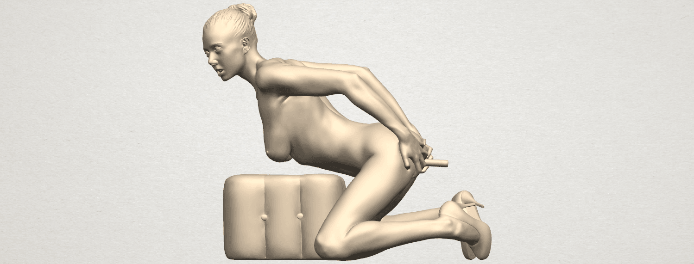 TDA0286 Naked Girl B03 01.png Download free STL file  Naked Girl B03 • 3D printing model, GeorgesNikkei