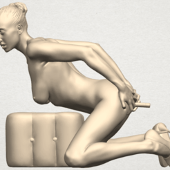 Download free 3D printing models  Naked Girl B03, GeorgesNikkei