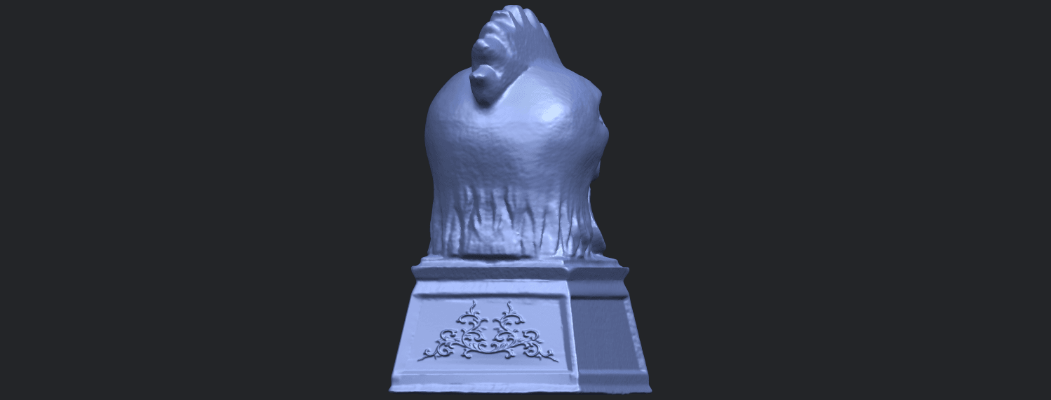 18_TDA0517_Chinese_Horoscope_of_Rooster_02B07.png Download free STL file Chinese Horoscope of Rooster 02 • 3D printable object, GeorgesNikkei