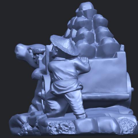 17_TDA0315_Golden_CarB03.png Download free STL file Golden Car • 3D printer template, GeorgesNikkei