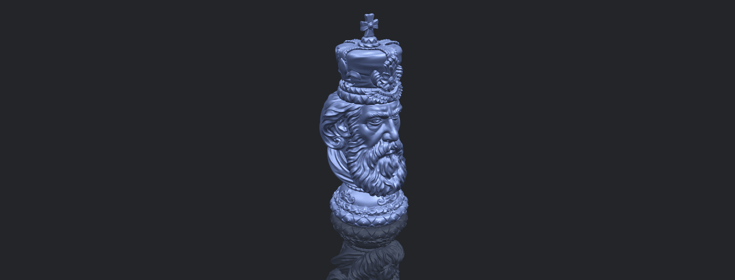 06_TDA0254_Chess-The_KingB00-1.png Download free STL file Chess-The King • 3D printer model, GeorgesNikkei