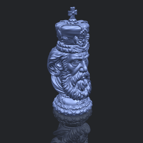 06_TDA0254_Chess-The_KingB00-1.png Télécharger fichier STL gratuit Chess-Le roi des échecs • Objet pour impression 3D, GeorgesNikkei