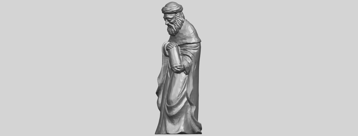 26_Sculpture_of_Arabian_88mm-A02.png Download free STL file Sculpture of Arabian • 3D print template, GeorgesNikkei