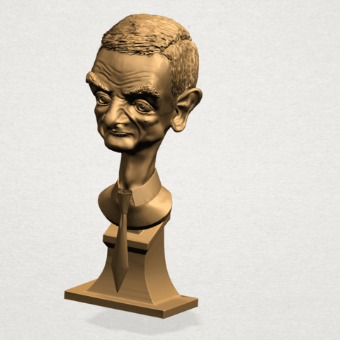 Sculpture of a man - B02.png Download free STL file Sculpture of a man 01 • 3D printable object, GeorgesNikkei