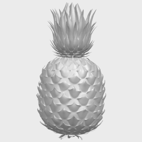 15_TDA0552_PineappleA09.png Download free STL file Pineapple • 3D printer design, GeorgesNikkei