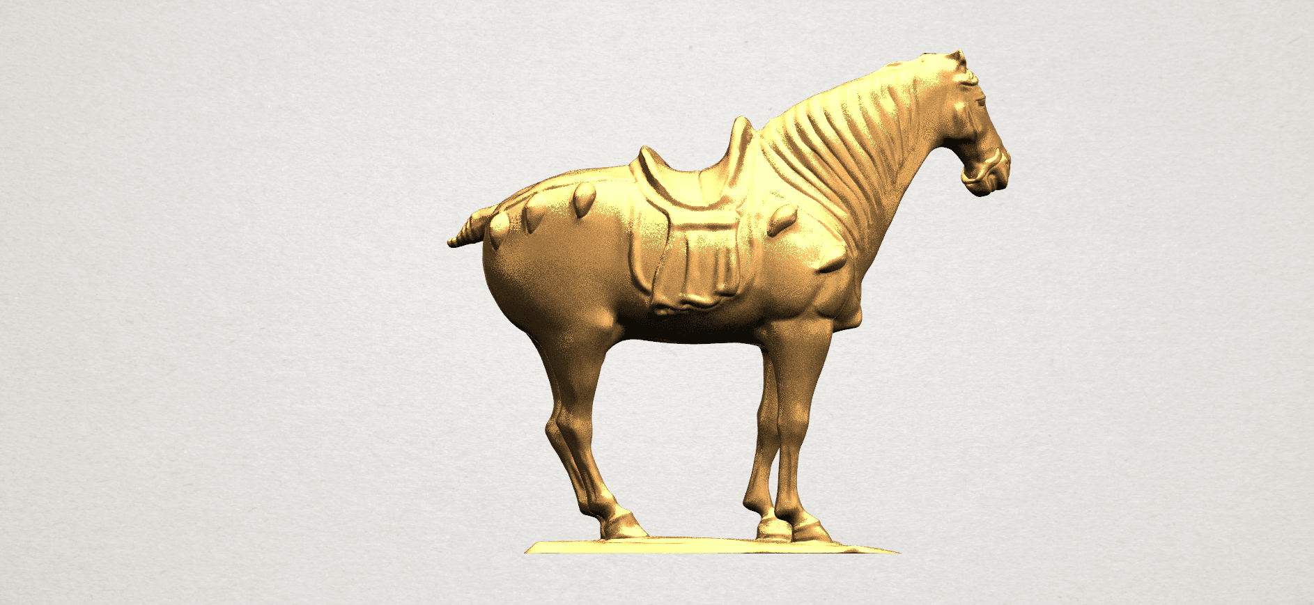 Horse (iv) A05.png Download free STL file Horse 04 • 3D print design, GeorgesNikkei
